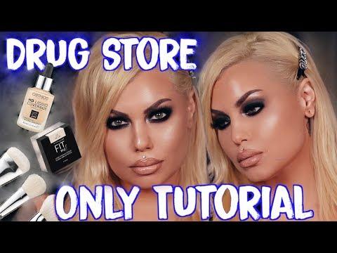 🔥sizzling smokey eyes using my drugstore makeup favs - drug store makeup tutorial   Bailey Sarian thumbnail