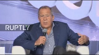 LIVE Lavrov takes part in Q&A with students