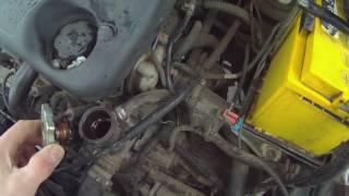 1. Антифриз протекает через радиатор охлаждения двигателя ЛАДА КАЛИНА.