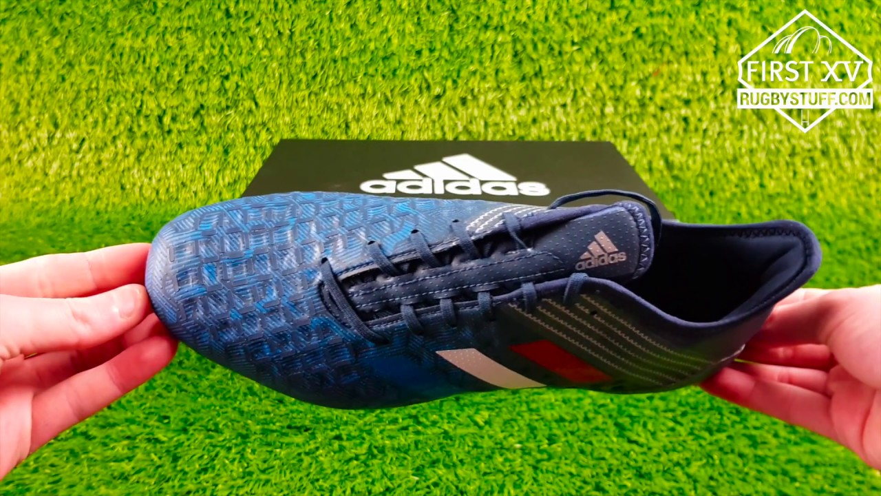 on feet shots of temperament shoes big discount Adidas Predator Malice Control Rugby Boots - Tricolore Collection
