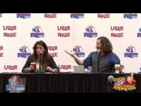 Cincinnati Comic Expo TV 2015 Eve Myles panel