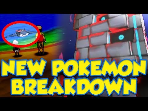 NEW Pokemon Ultra Sun and Ultra Moon News Breakdown! NEW POKERIDE / POKEDEX?