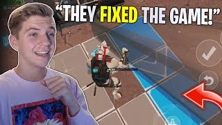 FORTNITE MOBILE IS FINALLY FIXED! Biggest Update In Mobile History (Pickup + Edit Glitch Fix)