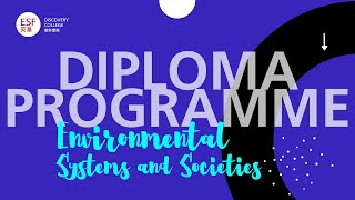 DP Environmental Systems and Societies