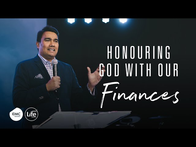 Honouring God With Your Finances | Rev Paul Jeyachandran