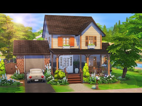 FAMILY'S FIRST HOME 💕 | The Sims 4: Speed Build