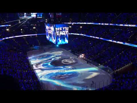 Tampa Bay Lightning Opening Pregame 4/21/18 vs New Jersey Devils Round 1 Game 5
