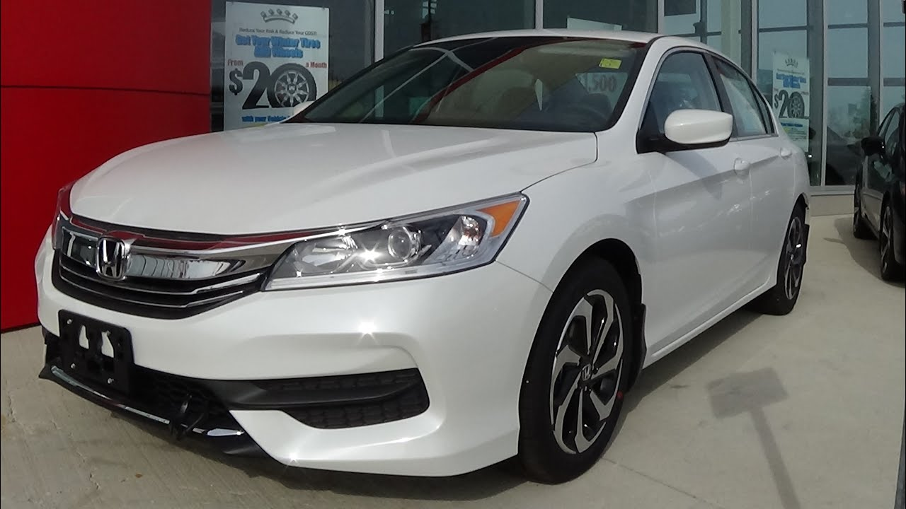 2016 Honda Accord Lx Review