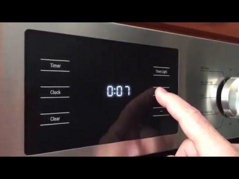 Bosch Oven Timer Youtube