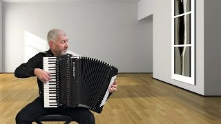 Astor Piazzolla Tango Argentino - Accordion - 'Sentimental' - Jo Brunenberg - Acordeon instrumental