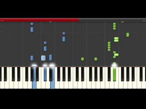 Carrapicho tic tic tac piano midi tutorial sheet partitura cover