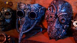 маски в стиле steampunk от Дмитрия Брагина  Мастер дела