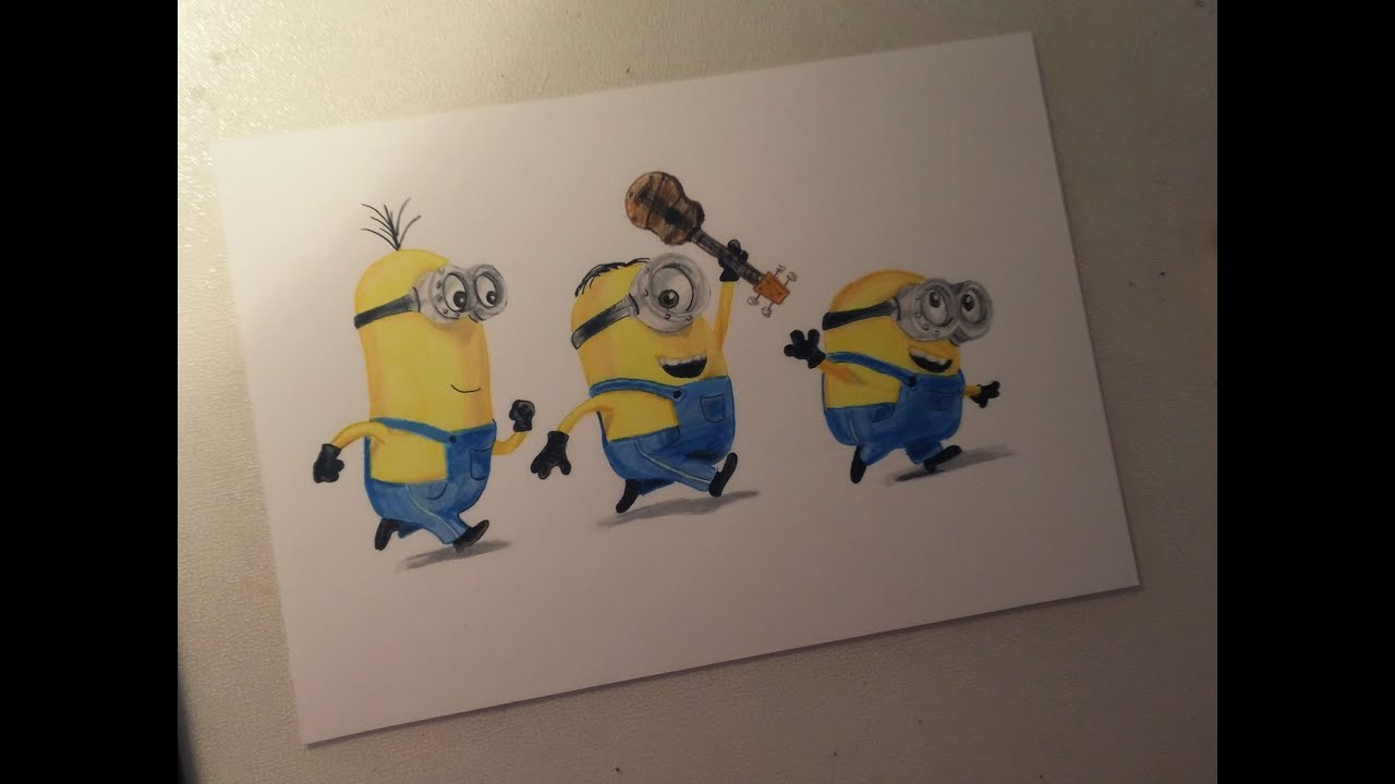 Show me how to draw a minion - Show Me How To Draw A Minion 44