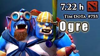 Dota 2 Ogre Magi | 7.22h | Tim Dota | #755