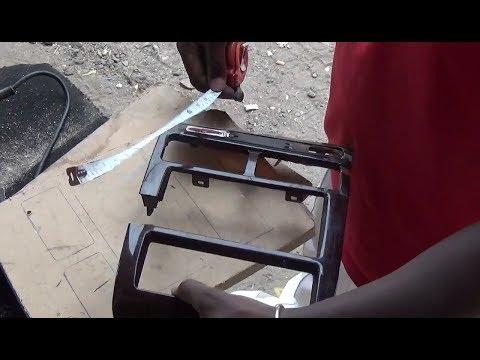 MAKE A WOOD CAR DASHBOARD,,EASY AND CLEAN