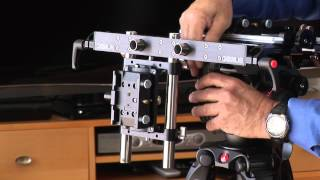 Genus 3D Camera Rig Assembly for Stereoscopy / Stereography (Manfrotto - Bogen Imaging)