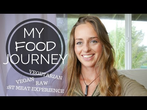 MY FOOD JOURNEY | VEGETARIAN, ANIMAL SPIRITS & VEGAN | BRIDGET NIELSEN