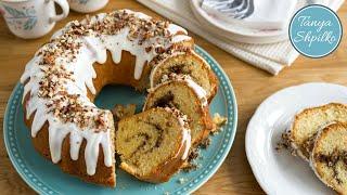 Невероятно Вкусный Кекс «Синнабон» | Cinnabon Bundt Cake | Tanya Shpilko