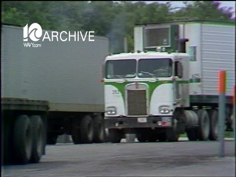 Wavy Archive 1979 Franks Truck Stop Truckers Strike