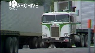 WAVY Archive: 1979 Franks Truck Stop - Truckers Strike