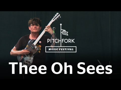 """Thee Oh Sees performs """"Contraption/Soul Desert"""" at Pitchfork Music Festival 2012"""