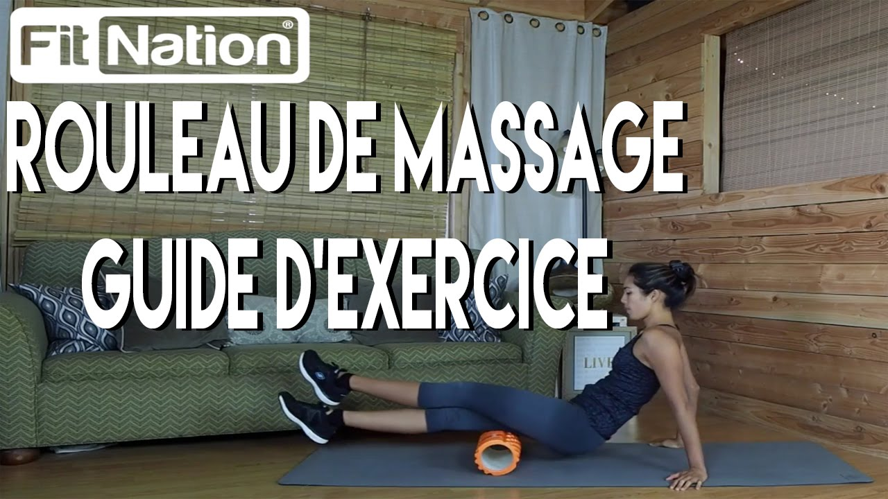 rouleau de massage fit nation trigger point foam roller guide d 39 exercise youtube. Black Bedroom Furniture Sets. Home Design Ideas