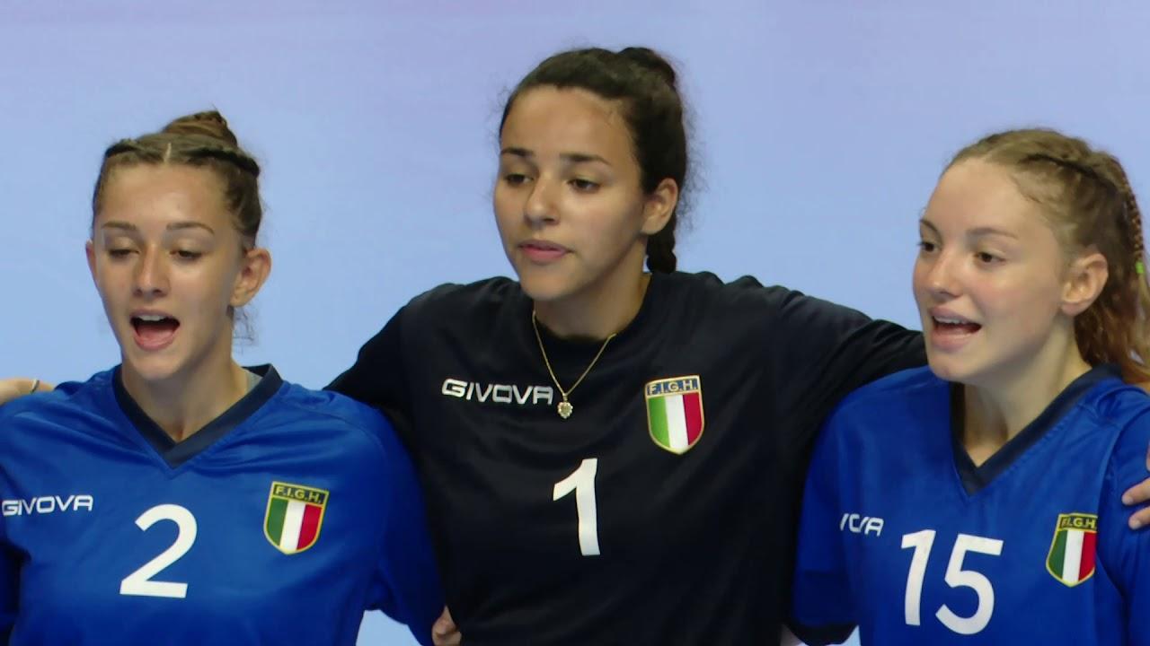 W17 EHF Championship: Italy - Azerbaijan 35-26