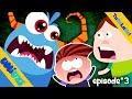 Umi Uzi | TuRuLaRa | a very scary Halloween | funny videos for kids | S01Ep03 | Halloween special