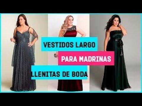 Vestidos Largos De Madrinas De Boda Para Gorditas Youtube