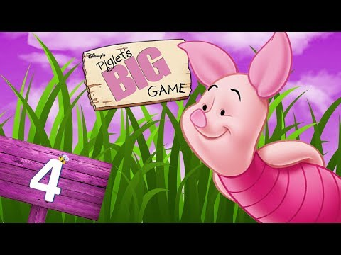 Disney's Piglet's Big Game (GameCube) - HD Walkthrough Level 4 - Eeyore's Dream