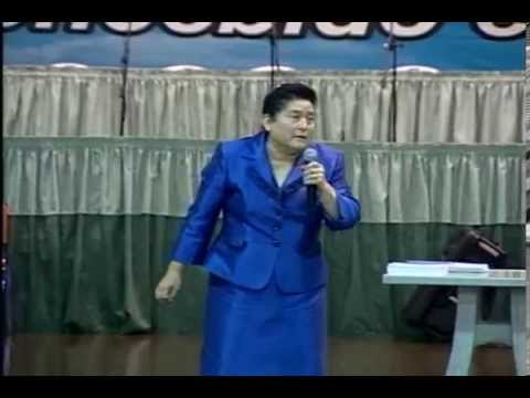 La importancia de la Oración - Pastora Mélida de Gómez