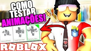 😱 How to TEST ANY ANIMATION for free on ROBLOX 🤑