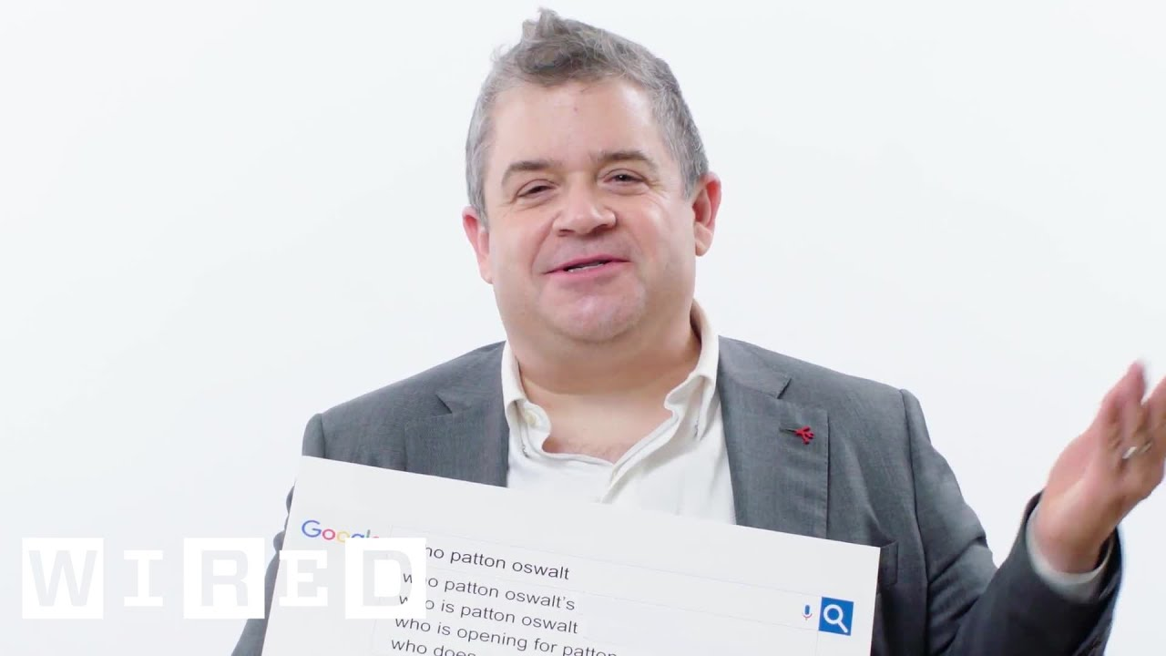 Patton Oswalt Answers the Web's Most Searched Questions | WIRED