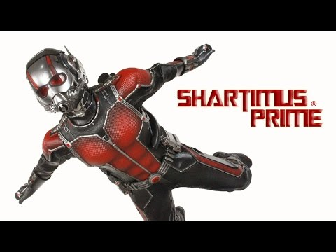 Hot Toys Marvel's Ant Man Movie Masterpiece Paul Rudd 1:6 Scale Collectible Action Figure Review