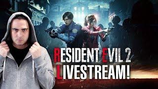 ΤΡΟΜΑΚΤΙΚΟ LIVESTREAM! (Resident Evil 2) | 2J
