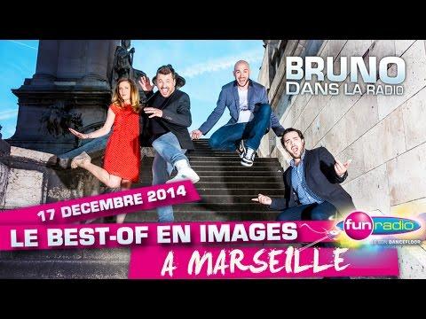 Le #FunRadioXmasTour de Bruno dans la Radio à Marseille ! (17/12/2014)