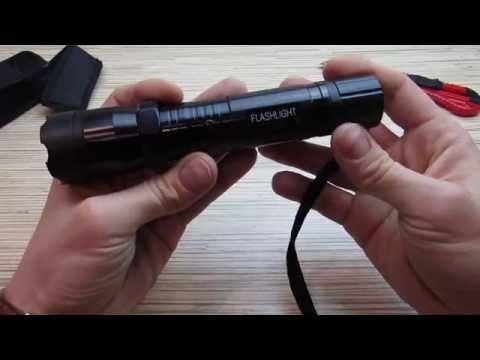 видео: Фонарь-электрошокер!!! flashlight gt1101 с aliexpress!!! Распаковка посылки из Китая!
