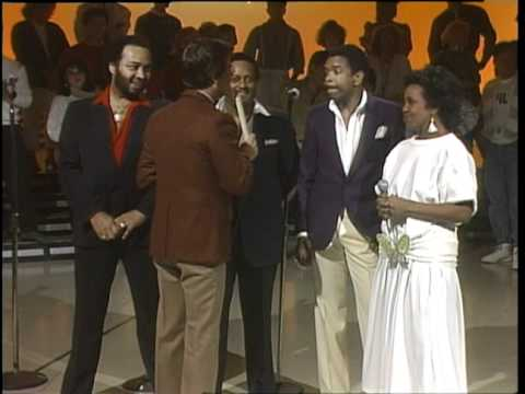 Dick Clark Interviews Gladys Knight & The Pips - American Bandstand 1985
