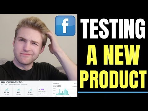 HOW MANY Facebook Ads Should You Launch For A NEW Shopify Product?