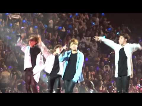 170401 BTS The Wings Tour in Anaheim Day 1 - Outro Wings