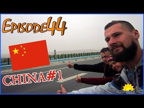First adventures in China. Urumqi. Towards The Sun by Hitchhiking 44