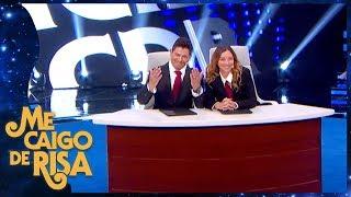 Las noticias con Regina Blandon y Ernesto Laguardia Juego exclusivo Me caigo de risa