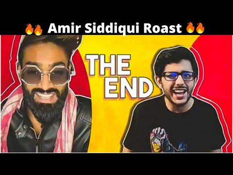 Youtube Vs Tiktok   The End   Amir Siddiqui Roast   Sasta Roaster
