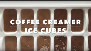 Coffee Creamer Ice Cubes