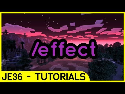 How To Use '/effect' Command In Minecraft Bedrock | Command Tutorial #13