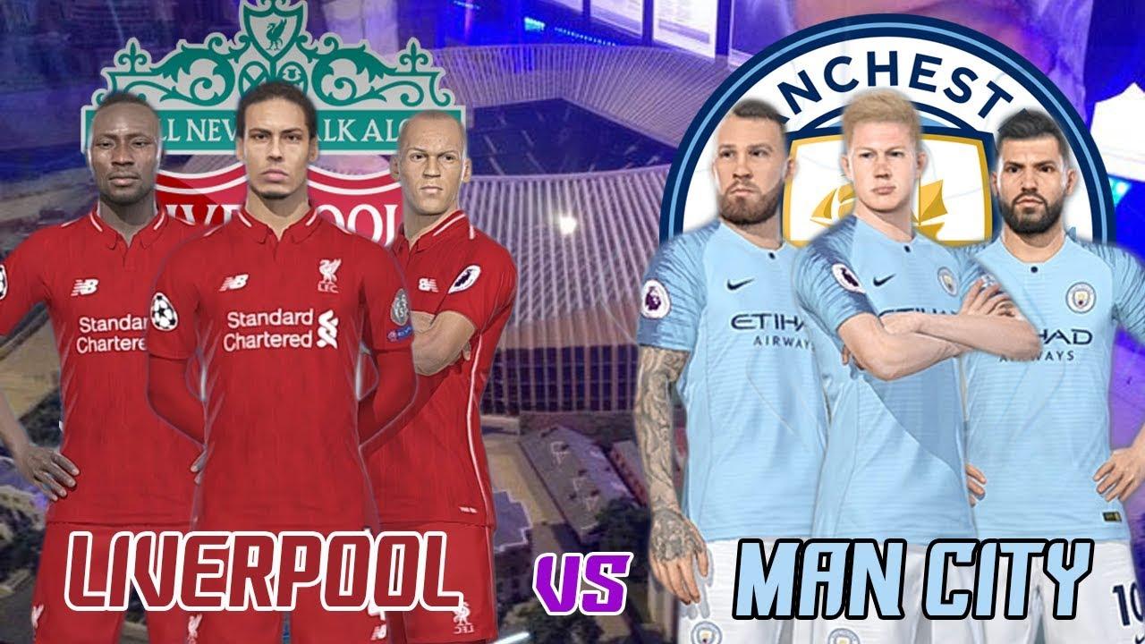 Liverpool 2019 vs Man City ( Champions Premier League 2018 ...