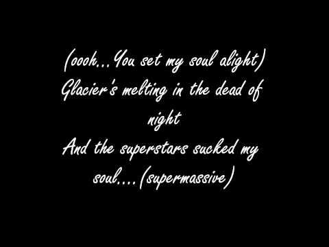 Muse-Supermassive Black Hole lyrics