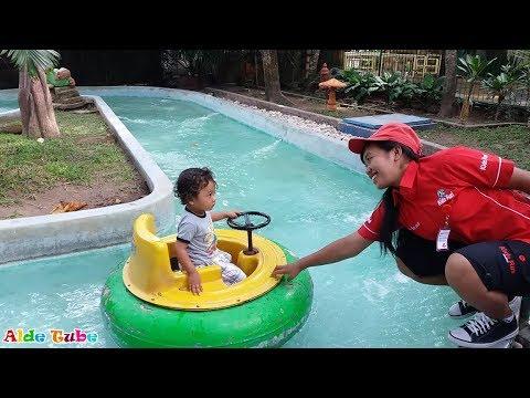 Lagu Anak Si Kodok - Ada kodok Rekotok Rekotok - Asiknya Deba Naik Perahu Ban