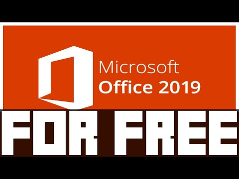 Microsoft Office 2019 [FOR FREE] [GERMAN/DEUTSCH]