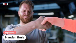 Coronavirus: zo vies is handen schudden